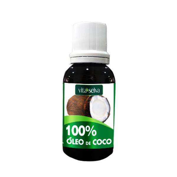 ÓLEO DE COCO 100% CAPILAR 30ML - VITA SEIVA