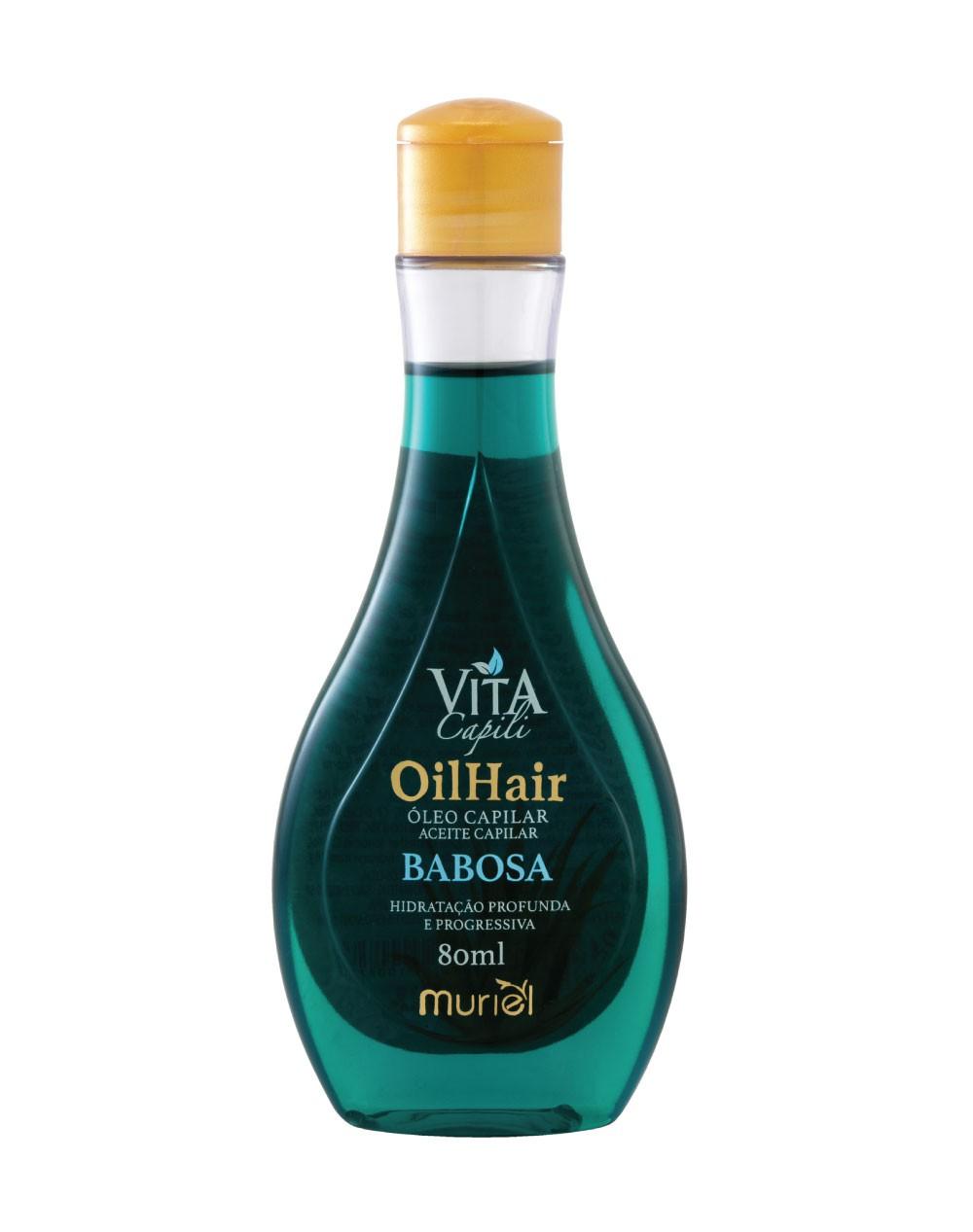 ÓLEO MURIEL CAPILAR 80ML BABOSA