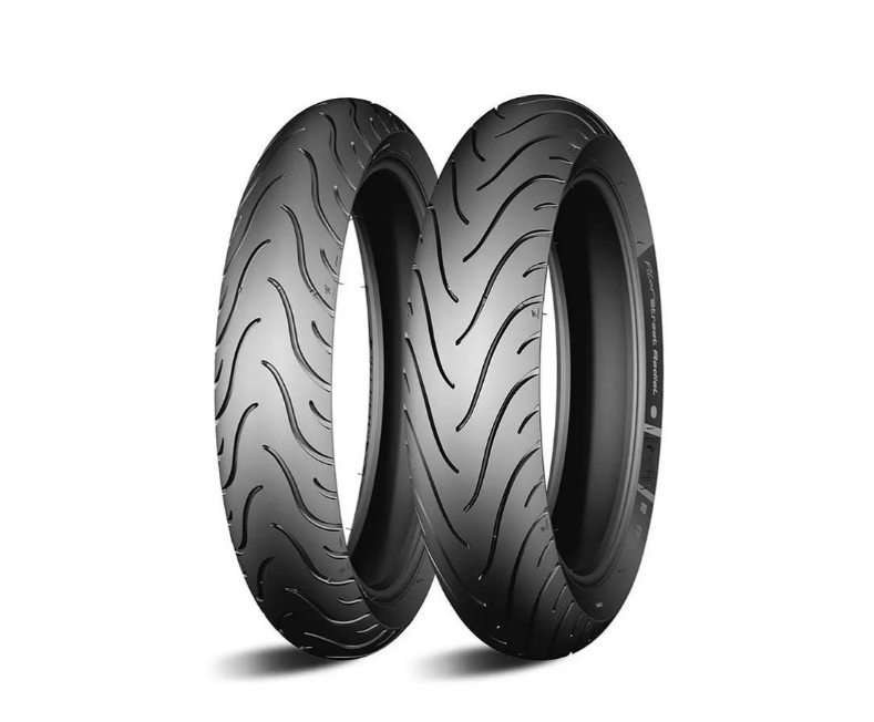 Par Pneu Cb500 Nc700 Michelin Street Rad120/70-17+160/60-17