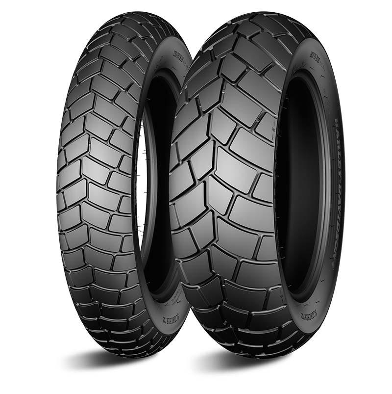 Par Pneu Michelin Fat Bob Scorcher 32 130/90-16+180/70-16