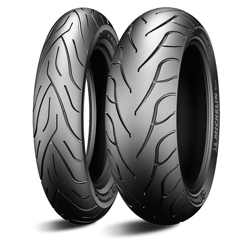 Par Pneu Moto Commander 2 Michelin 120/70-19 + 240/40-18