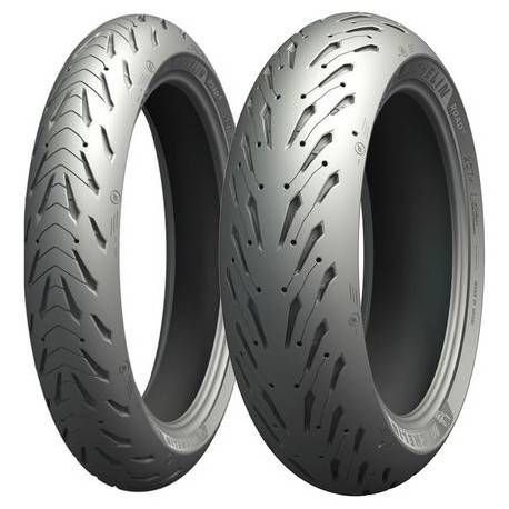 Pneu Michelin Pilot Road 5 190/55-17 + 120/70-17 Combo