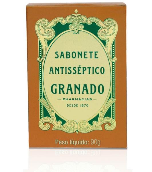SABONETE ANTISSÉPTICO TRADICIONAL 90G - GRANADO