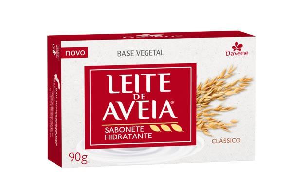 SABONETE LEITE DE AVEIA CLÁSSICO 90G - DAVENE
