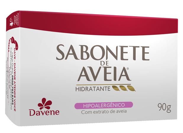 SABONETE LEITE DE AVEIA HIPOALERGÊNICO 90G - DAVENE