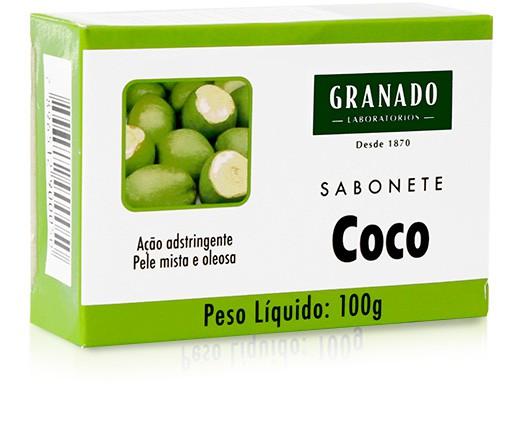 SABONETE GRANADO 100G TRAT COCO