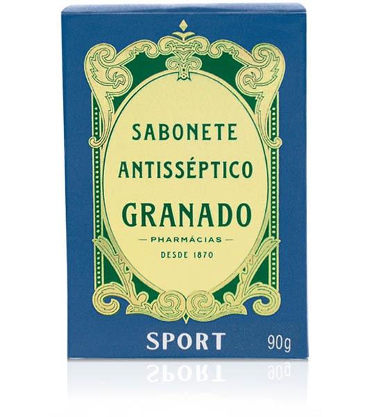 SABONETE GRANADO 90G SPORT ANTISEPTICO