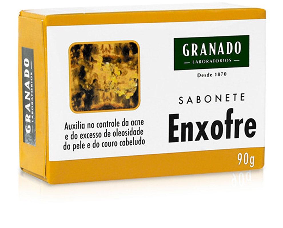 SABONETE GRANADO 90G TRAT ENXOFRE