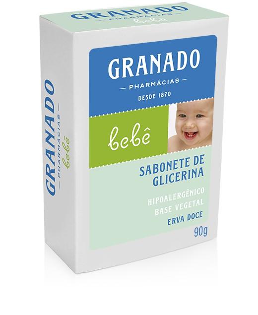 SABONETE INFANTIL BEBÊ ERVA-DOCE 90G - GRANADO