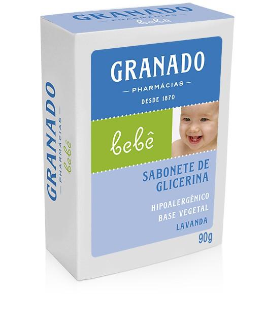 SABONETE INF GRANADO 90G BEBE GLIC LAVAND