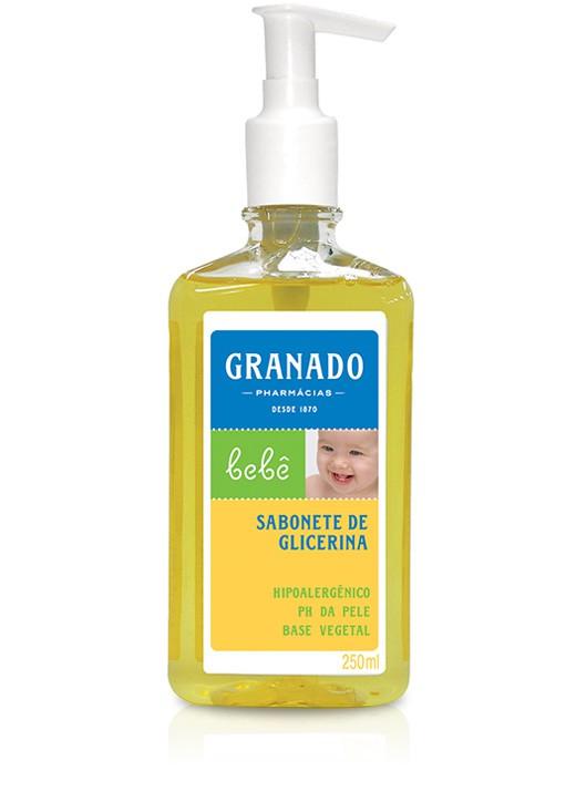 SABONETE LIQ. INFANTIL GRANADO 250ML BB GLIC TRADIC