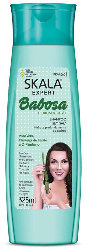 SHAMPOO BABOSA 325ML - SKALA
