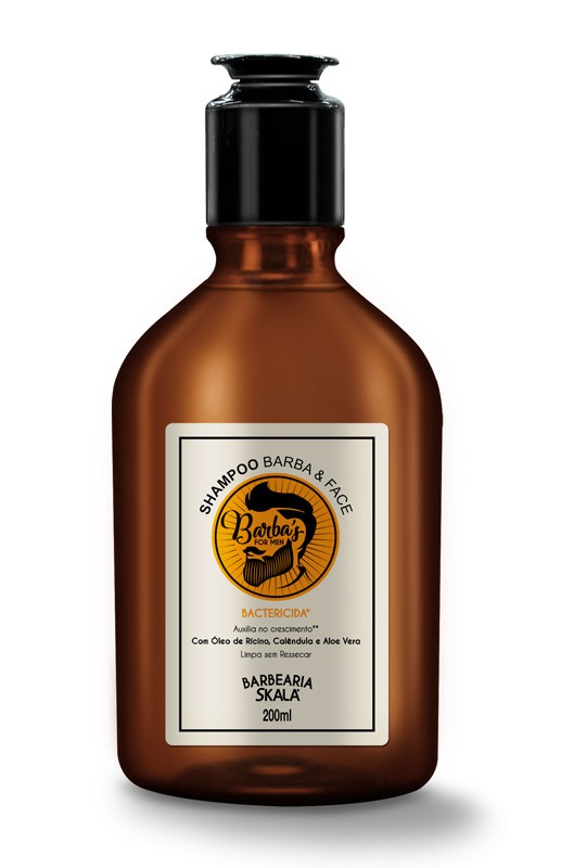SHAMPOO BARBA & FACE BARBA'S FOR MEN 200ML - SKALA