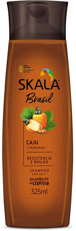 SHAMPOO BRASIL CAJU E MURUMURU 325ML - SKALA