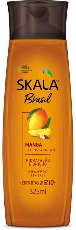 SHAMPOO BRASIL MANGA E CASTANHA DO PARÁ 325ML - SKALA