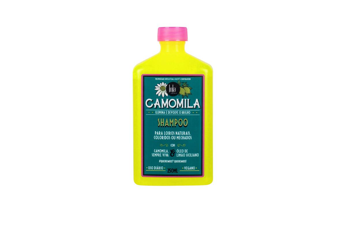 SHAMPOO CAMOMILA 250ML - LOLA