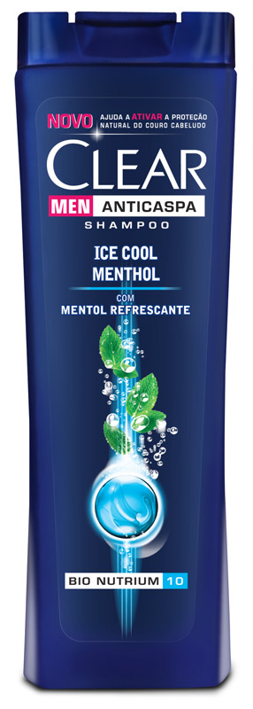 SHAMPOO CLEAR MEN ANTICASPA ICE COOL MENTHOL 200ML - UNILEVER