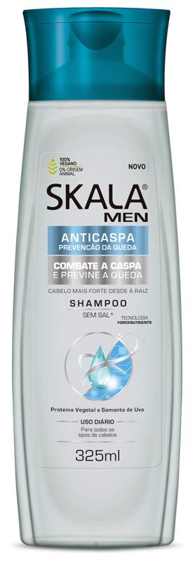 SHAMPOO FOR MEN ANTICASPA 325ML - SKALA