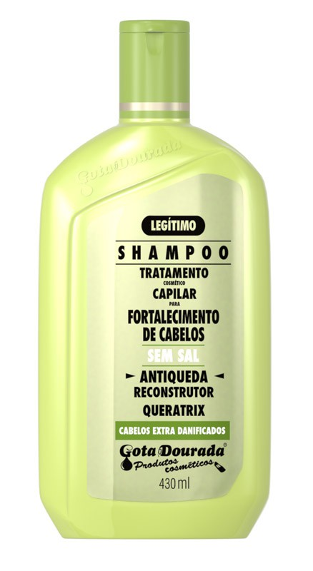 SHAMPOO GOTA DOURADA 430ML ANTIQUEDA