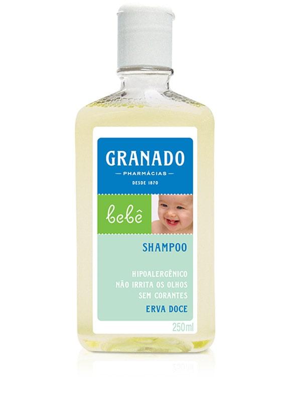 SHAMPOO INFANTIL BEBÊ ERVA DOCE 250ML - GRANADO