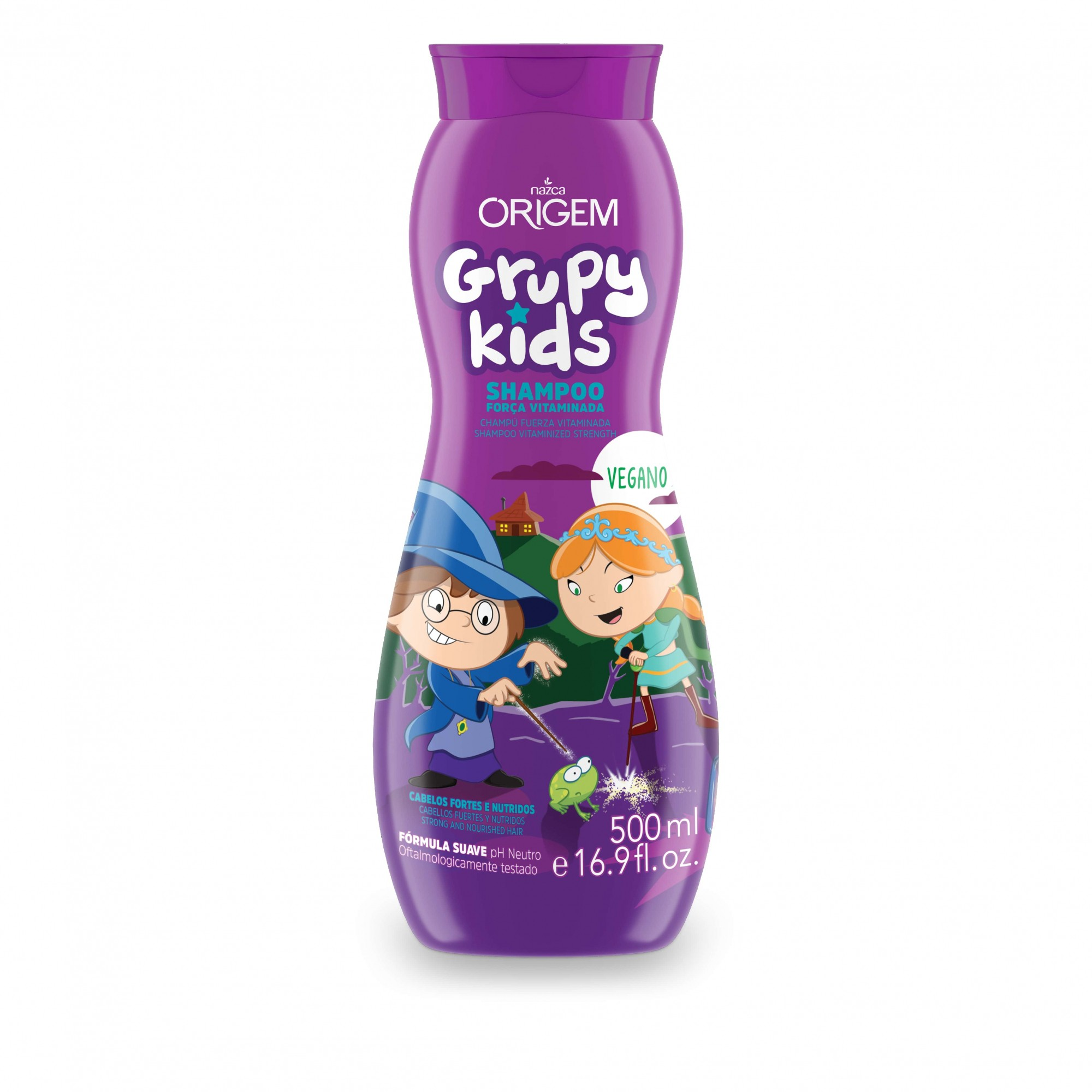 SHAMPOO INF GRUPY KIDS 500ML FORCA VITAMINAD