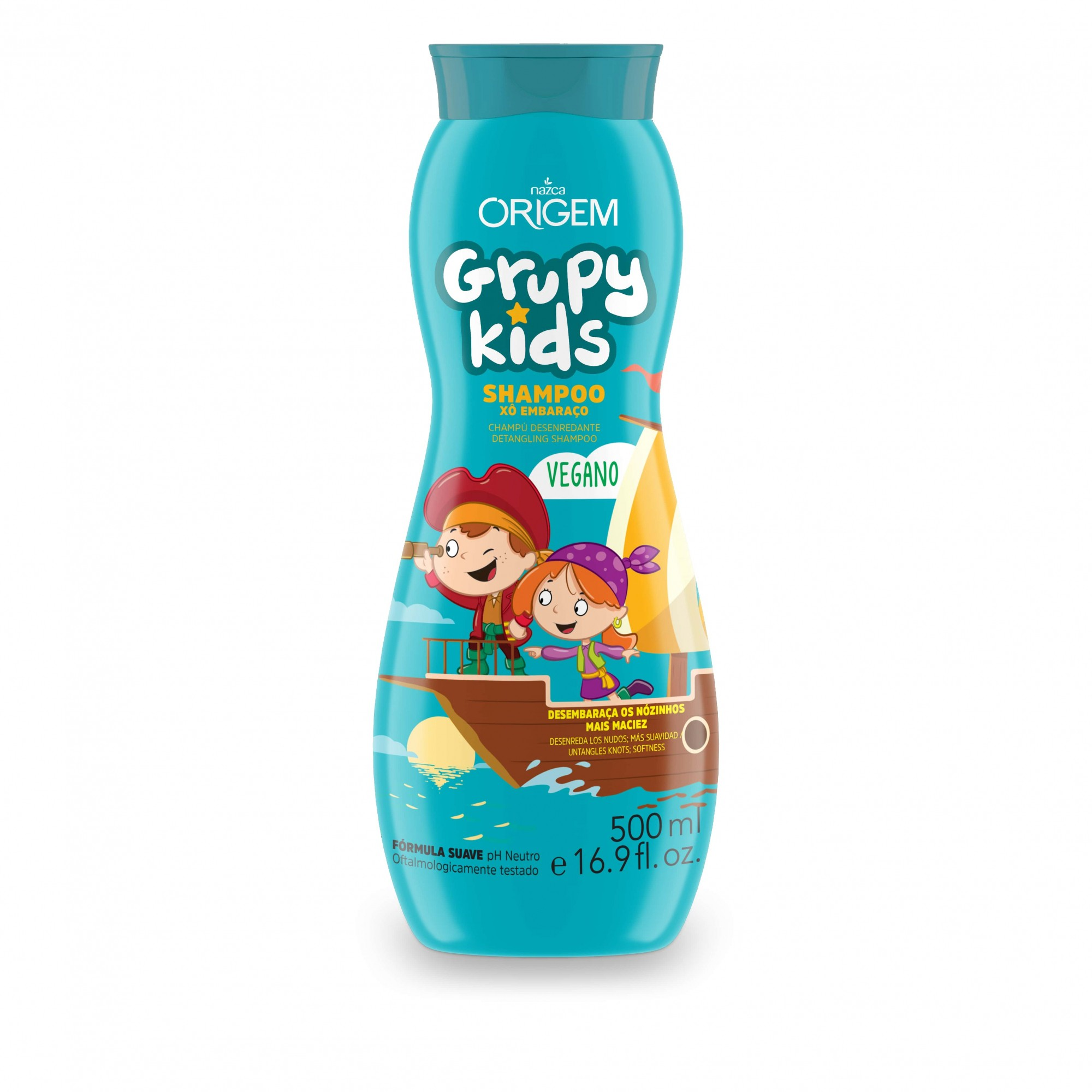 SHAMPOO INF GRUPY KIDS 500ML XO EMBARAÇO