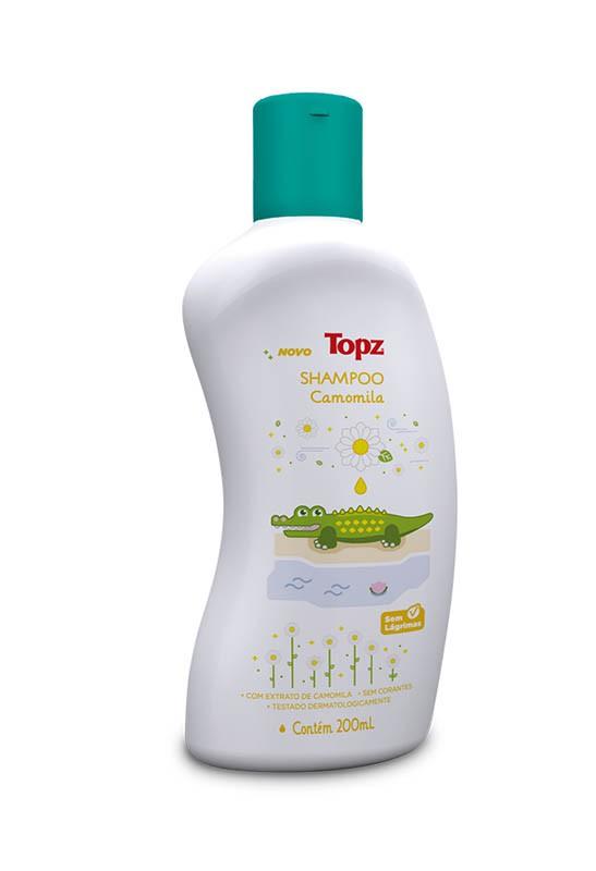 SHAMPOO INFANTIL TOPZ BABY CAMOMILA 200ML - CREMER