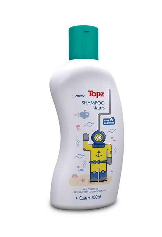 SHAMPOO INF TOPZ BABY 200ML NEUTRO