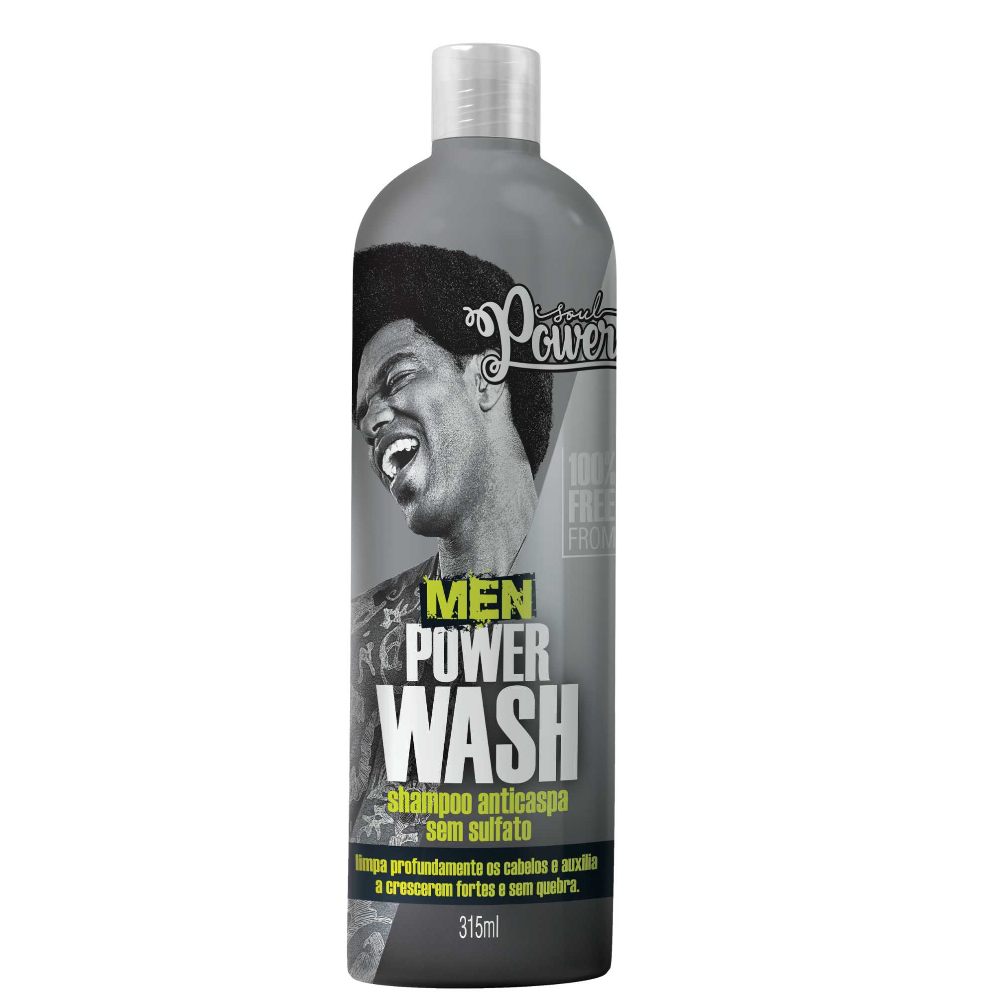SHAMPOO MEN POWER WASH - SOUL POWER 315ML