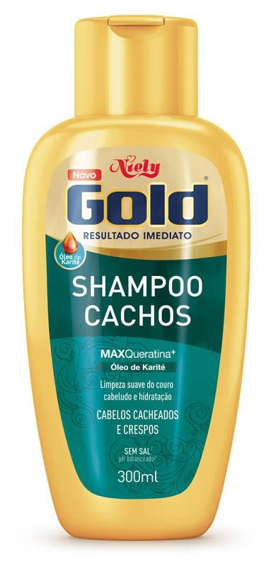 SHAMPOO NIELY GOLD 300ML CACHOS