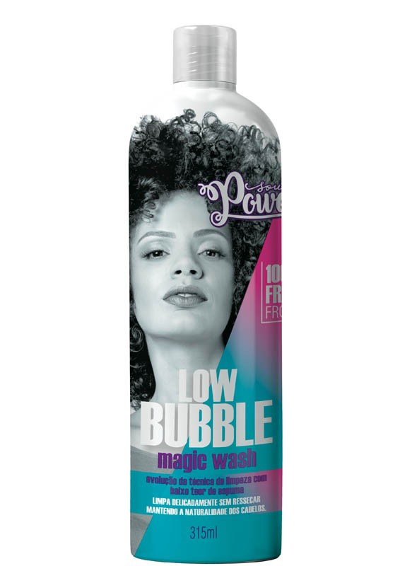 SHAMPOO SOUL POWER LOW BUBBLE 315ML - BEAUTY COLOR