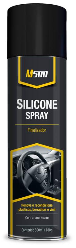 SILICONE M500 ERVAS 300ML - BASTON