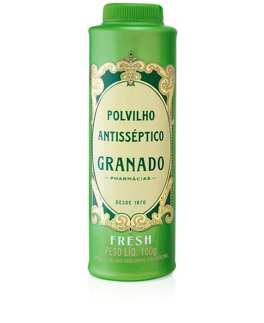 TALCO ANTISSÉPTICO FRESH 100G - GRANADO