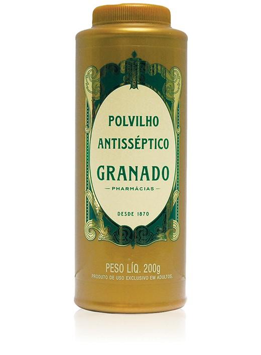 TALCO ANTISSÉPTICO GRANADO 200G TRADICIONAL
