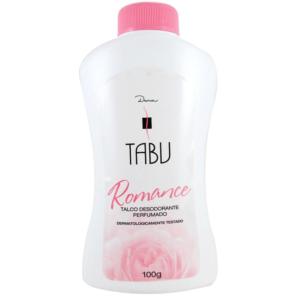 TALCO CREME TABU 100G ROMANCE