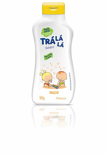 TALCO CREME INFANTIL TRÁ LÁ LÁ BABY BEM ESTAR 160G - PHISALIA