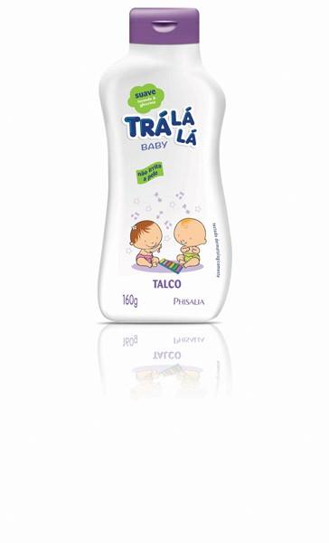 TALCO CREME INFANTIL TRÁ LÁ LÁ SUAVE 160G - PHISALIA