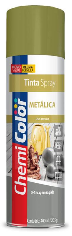 TINTA CHEMICOLOR USO GERAL CROMADO 350ML - BASTON