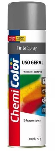 TINTA CHEMICOLOR USO GERAL ALUMINIO RODAS 400ML - BASTON