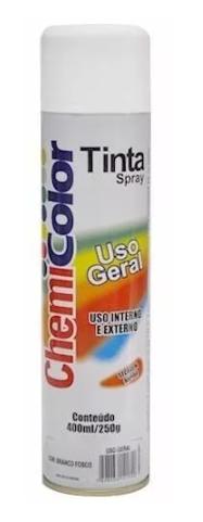 Tinta Chemicolor Uso Geral Branco Fosco - Baston 400ml