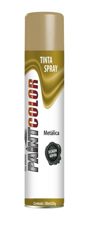 TINTA PAINT METALICA OURO 350ML - BASTON