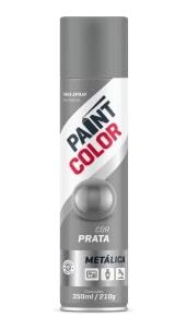 TINTA PAINT METALICA PRATA 350ML - BASTON