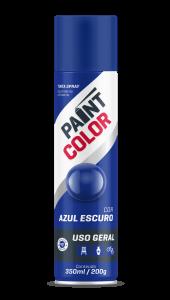 TINTA PAINT USO GERAL AZUL ESCURO 350ML - BASTON
