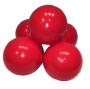 Bolinhas de Piscina 76mm   Saco com 500 vermelhas