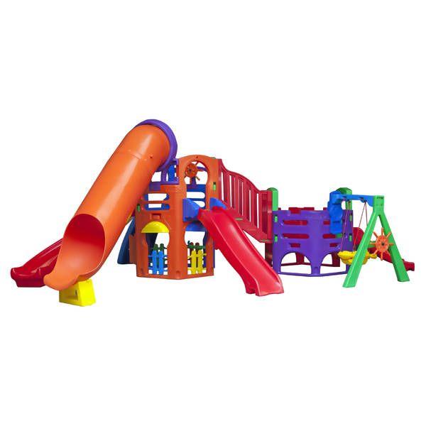 Playground Aquarius Top | 6m10 x 4m80 x 2m20 | 1 a 12 anos