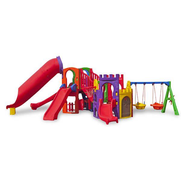Playground Aquarius Top Petit | 6m x 4m70 x 2m20 | 1 a 12 anos