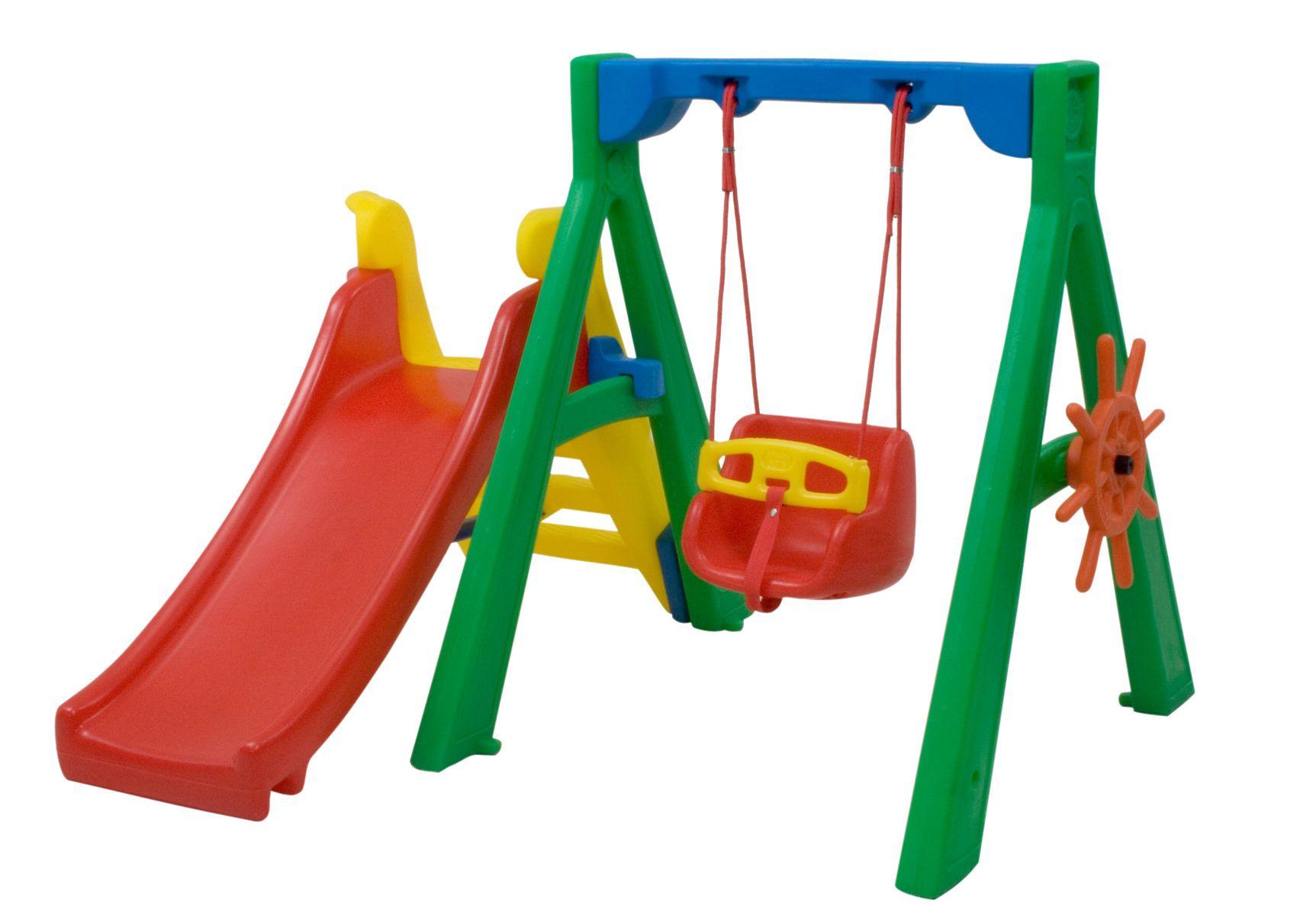 Baby Play + Balanço Bebê | 1m65 x 1m52 x 1m20 | 9 meses a 3 anos