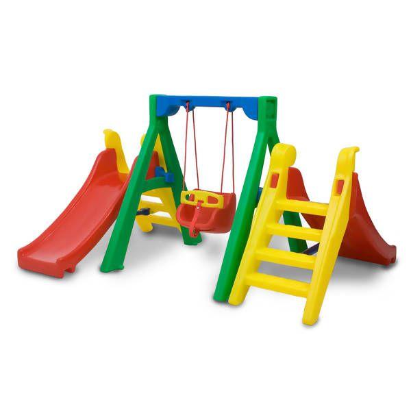 Balanço Baby Play Plus | 2m23 x 1m90 x 1m20 | 1 a 5 anos