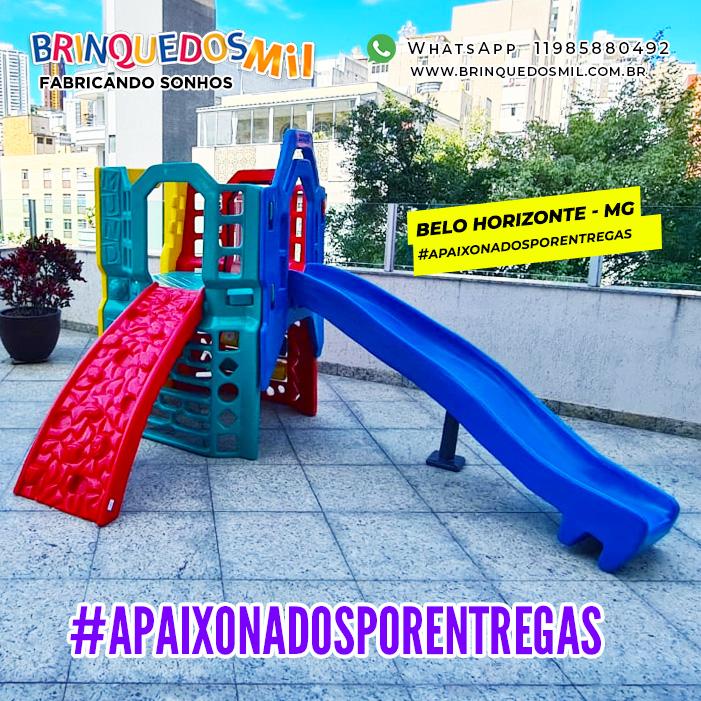 Playground Big Mundi | 2m95 x 2m43 x 1m97 | 1 a 12 anos