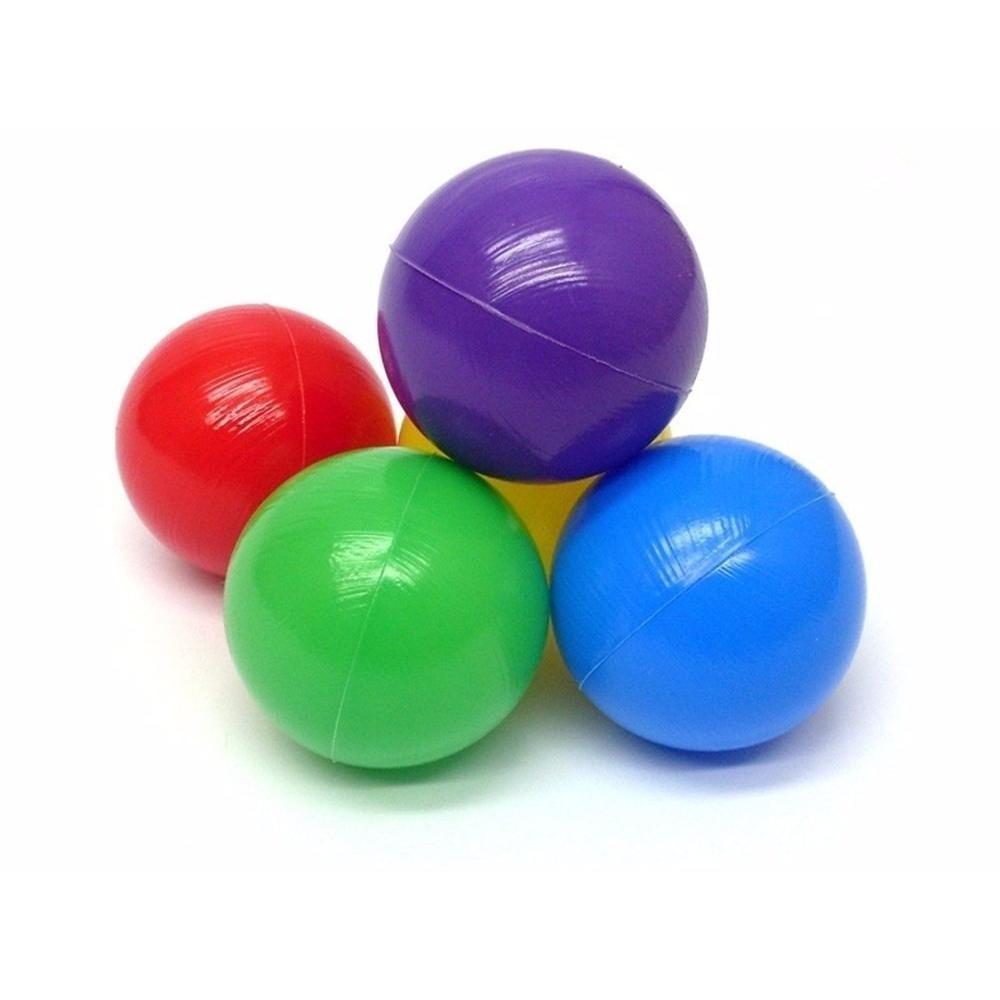 Bolinhas de Piscina 76mm | Saco com 500 coloridas
